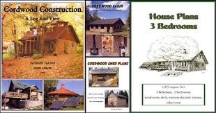 Cordwood Masonry for the Do it Yourself Builder  Build a Cordwood    Cordwood construction books by Richard Flatau