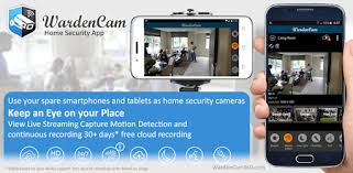 Home Security Camera WardenCam - reuse old phones - Apps on ...