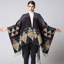 Fashion brand 2019 <b>women scarf winter</b> ponchos and capes ...