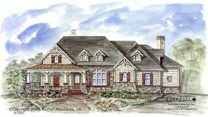 Birch River Cottage House Plan   Active Adult House Plans Birch River Cottage  Craftsman House Plans  Ranch House Plans