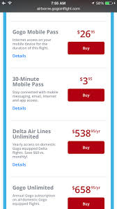 review delta one los angeles to new york jfk one mile at a time when did onboard wifi get so expensive