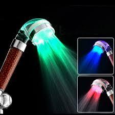 <b>LED Anion Shower SPA</b> Shower Head Pressurized Water Saving ...