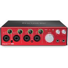 <b>Внешняя студийная звуковая карта</b> Focusrite Clarett 4Pre USB