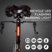 <b>Bike</b> Taillight <b>Waterproof</b> Riding Rear <b>light</b> Led Usb Chargeable ...