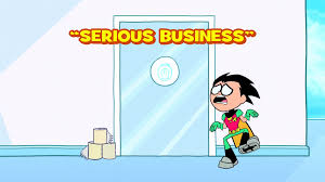 serious business teen titans go wiki fandom powered by wikia