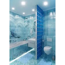 <b>Панно</b> «Лагуна Дельфины» 74.7х109.2 см цвет голубой в Москве ...