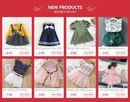 <b>Mayfair Cabin Girls Dresses</b> Autumn New Baby Girl Dress for Girl ...