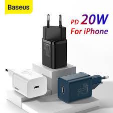Зарядное <b>устройство Baseus Super</b> Si USB для iPhone 20 Вт ...