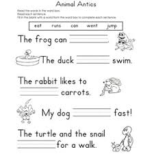 English Sheets For Year     reading comprehension  th grade     Pinterest