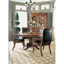 walnut cherry dining: fine furniture design raylen vineyards wine tasters  inch pedestal dining table