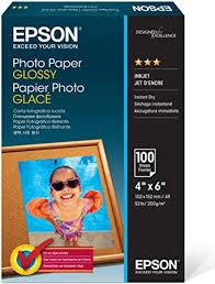 Epson Photo Paper Glossy - Borderless - S042038, 4 ... - Amazon.com