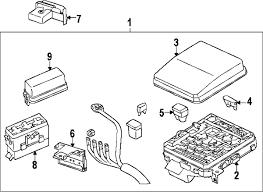 parts com® mitsubishi cover relay box partnumber 8565a024 2009 mitsubishi lancer es l4 2 0 liter gas fuse relay