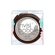 invisibobble Clicky BUN Pretzel Brown Hair Bun ... - Amazon.com