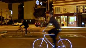 <b>Reflective bike</b> will light up at night to keep riders safe - The Verge