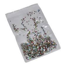 Transparent <b>White AB</b> 3D Glass Rhinestones For Nail Art Design ...