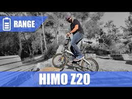 <b>HIMO Z20 Folding</b> Electric Bike 250W [UNBOXING & ASSEMBLY ...