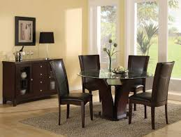 small dining table cool glass