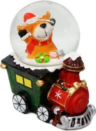 <b>Шар декоративный Новогодняя сказка</b> Паровоз 45 мм, в ассорт ...