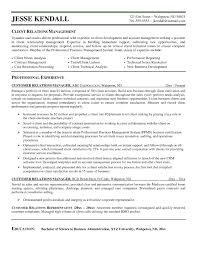 relationship manager resume sample