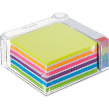 Блок-кубик <b>Attache Selection</b> 76х76 + <b>клейкие</b> закладки 76х14 ...