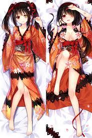 <b>Date</b> A Live Kurumi Tokisaki Japan <b>Anime Dakimakura</b> Hugging ...
