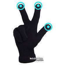 Перчатки iGlove для сенсорных экранов Black (iGlove ... - ROZETKA