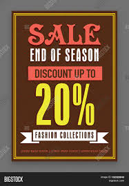 end of season flyer template or banner design  end of season flyer template or banner design 20% discount offer on