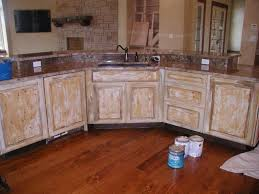 cabinets faux finished img kitchen cabinet paint painted cabinets refinishing chalk
