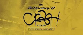 TDE Presents <b>ScHoolboy Q</b>: CrasH Tour witH Special Guest NAV ...