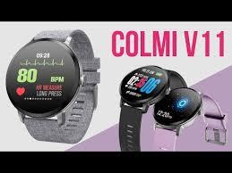 Многофункциональные <b>умные часы Colmi V11</b>