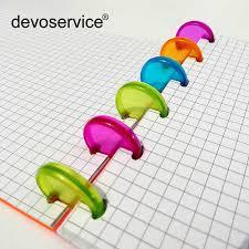 30Pcs/<b>Lot</b> Colorful Plastic <b>Binding</b> Ring Disc 20mm <b>Loose</b> Ring ...