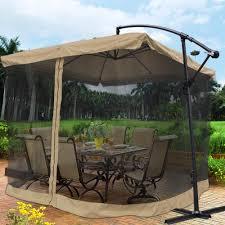 umbrella offset hanging outdoor market