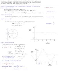 math plane periodic trig function models word problems trig function model example 1