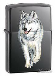 <b>Зажигалка Zippo</b> (Зиппо США) Zippo 769 <b>Wolf</b>, Серый <b>Волк</b> (Яркий ...