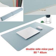 <b>800*400mm Mouse Pad Large</b> Size PU Leather <b>Desk Mouse Mat</b> ...