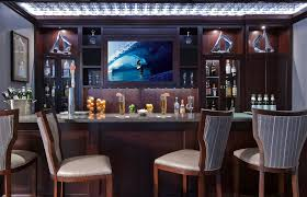 built in home bar home bar traditional with tv counter chairs built home bar cabinets tv