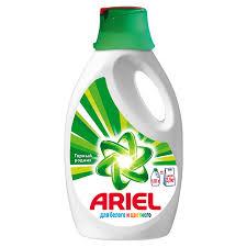 Жидкое <b>средство для</b> стирки Ariel горный родник для белого и ...