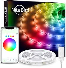 NiteBird 16.4ft Smart LED Strip Lights Works with ... - Amazon.com