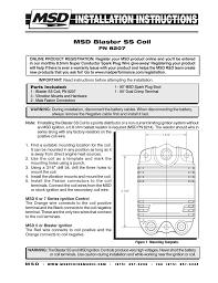 msd blaster ss wiring diagram wiring diagram and hernes msd blaster coil wiring diagram and hernes