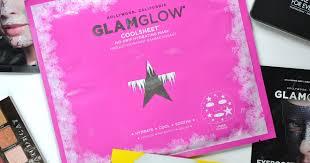 SHEET MASK | The New <b>GLAMGLOW COOLSHEET No Drip</b> ...