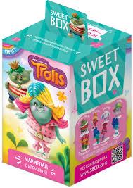 Sweet Box Тролли <b>мармелад с игрушкой</b>, 10 г — купить в ...
