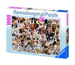 "<b>Пазл RAVENSBURGER</b> ""Изобилие <b>собак</b>"" 1000 шт. арт. 15633 ..."