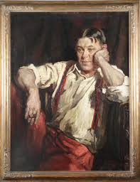 h l mencken great minds on race a painting of h l mencken
