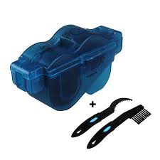 BIKEIN PRO 3pcs <b>Portable Bicycle Chain Cleaner</b> with Two Plastic ...