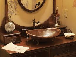 design basin bathroom sink vanities: copper bathroom sinks ci rustic elegance antique vanity copper sink pg sxjpgrendhgtvcom