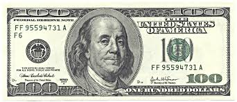 Image result for 100 dollar bill image