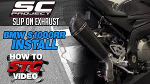 2016 BMW <b>S1000RR</b> SC Project <b>Slip-On Exhaust</b> Install ...
