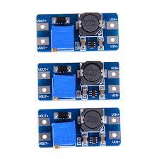 <b>3Pcs</b> Input 2V <b>24V</b> Dc Dc 5V/<b>9V</b>/<b>12V</b>/28V Boost Converter Catu ...