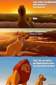 Look, Simba. Everything the light touches is Rockhampton Wow ... via Relatably.com