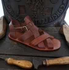 <b>Men</b> handmade sandals in Vegetable tanned <b>Leather</b> Mario Doni ...